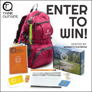 Let's cut down that screen time and get the kiddos outside for fun they will definitely want to brag about. Enter to win in the THiNK OUTSiDE Giveaway before it's too late. Good luck!