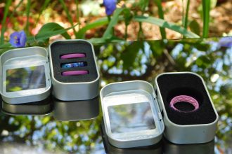 Enter to win in the Groove Silicone Wedding Rings Giveaway before it's too late. Good luck!