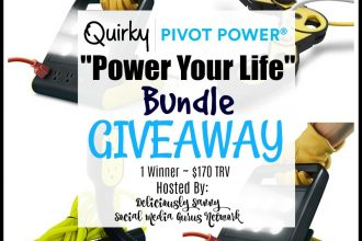 """Enter to win in the Quirky Power Pivot """"Power Your Life"""" Bundle Giveaway"""