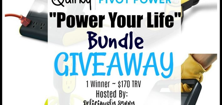 "Enter to win in the Quirky Power Pivot ""Power Your Life"" Bundle Giveaway"