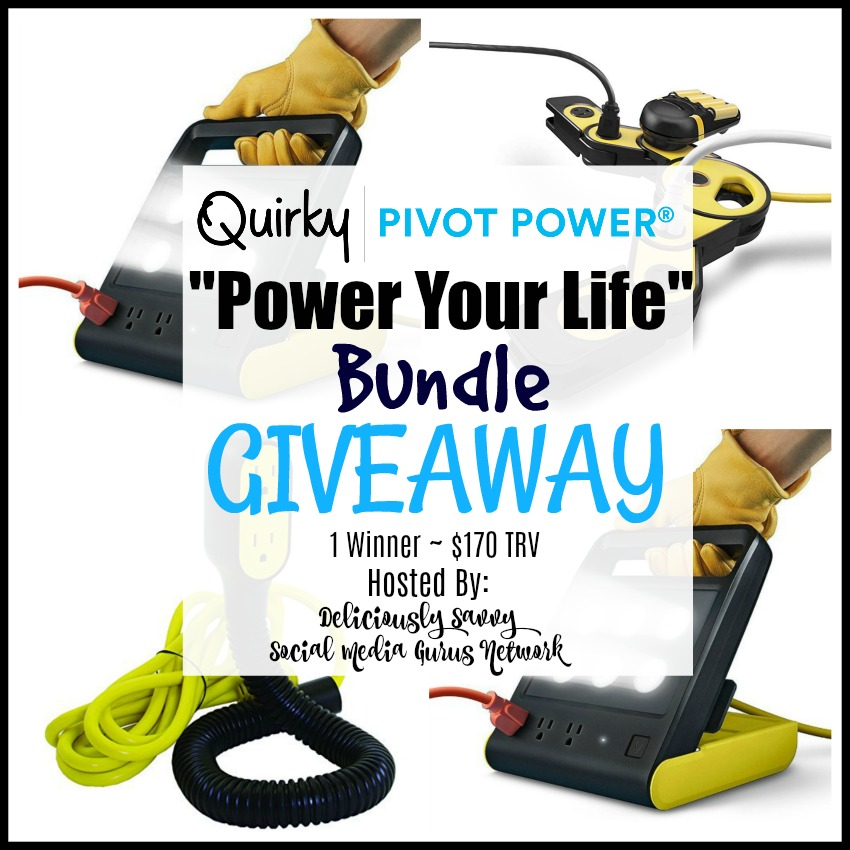 """CLOSED~Quirky Power Pivot """"Power Your Life"""" Bundle Giveaway – Ends 6/23"""
