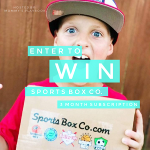 CLOSED~Sports Box Co Giveaway- Ends 5/20