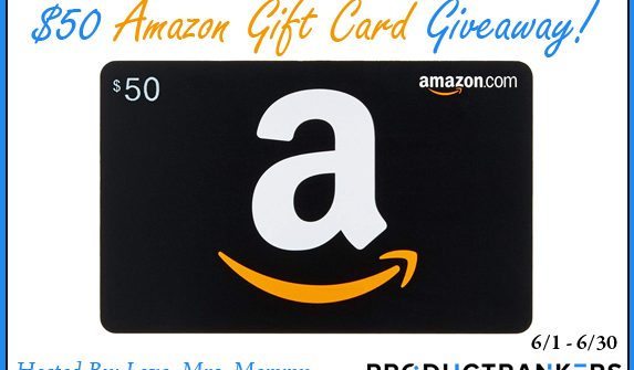 $50 Amazon Giveaway