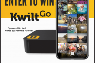 I am back with a new giveaway for you all. Don't miss out! Enter to win in the KwiltGo Giveaway before it's too late. Good luck!