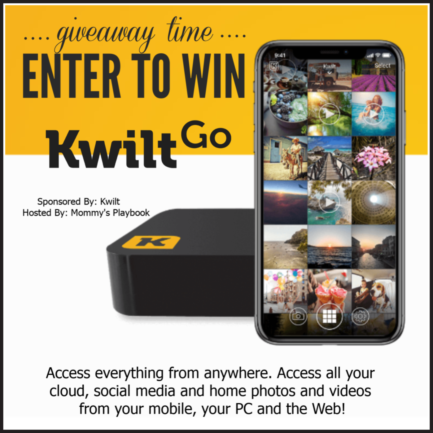 CLOSED~KwiltGo Giveaway- Ends 7/7