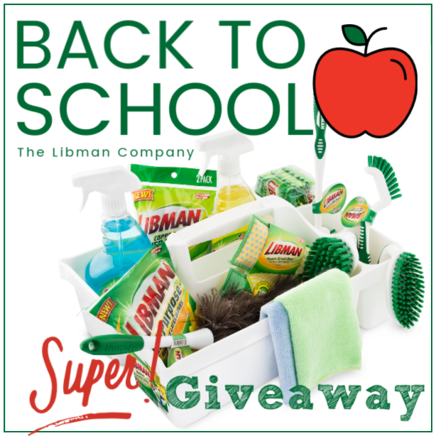 CLOSED~The Libman Company Back to School Prize Package Giveaway- Ends 8/16