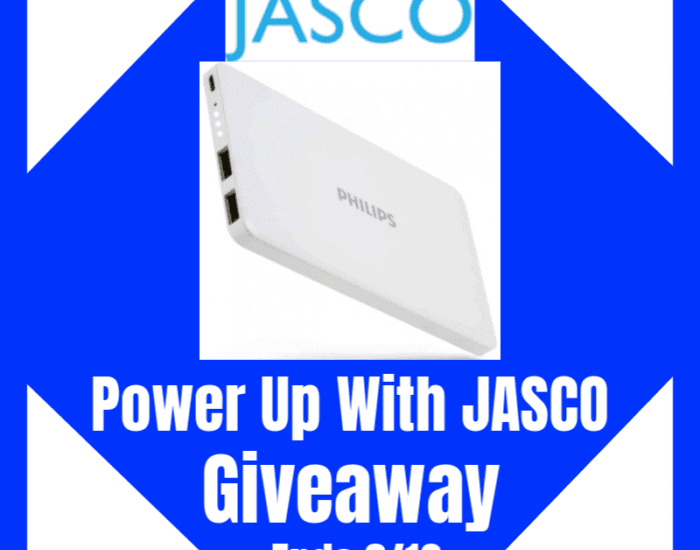 Enter to win in the Power Up With JASCO Giveaway before it's too late!