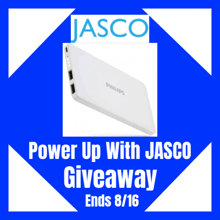 CLOSED~Power Up With JASCO Giveaway-Ends 8/16