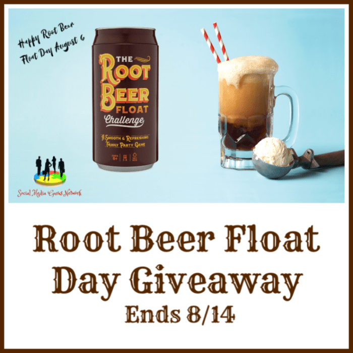 CLOSED~Root Beer Float Day Giveaway-Ends 8/14