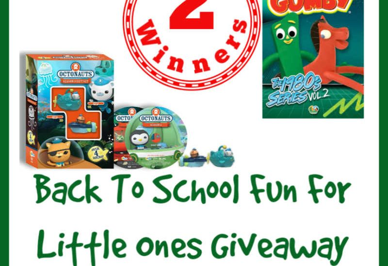 End the summer with an awesome giveaway for your little ones. Enter to win in the Back To School Fun For Little Ones Giveaway before it's too late. Good luck!