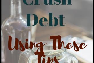 Crush debt using these tips