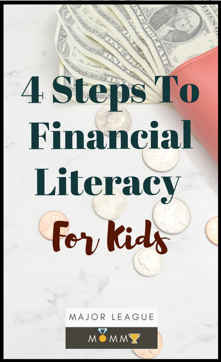4 Steps To Financial Literacy For Kids