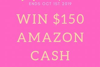 I'm sure we all have a little something in our Amazon cart that we are just waiting to check out. An extra $150 would certainly be helpful, right? Enter to win in the $150 Amazon Giveaway before it's too late. Good luck!