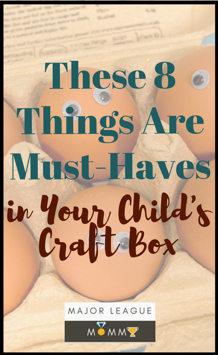 These 8 Things Are Must-Haves in Your Child's Craft Box