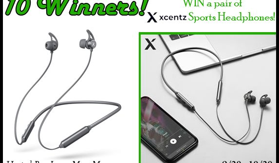 Enter to win in the XcentzSports Headphones Giveaway