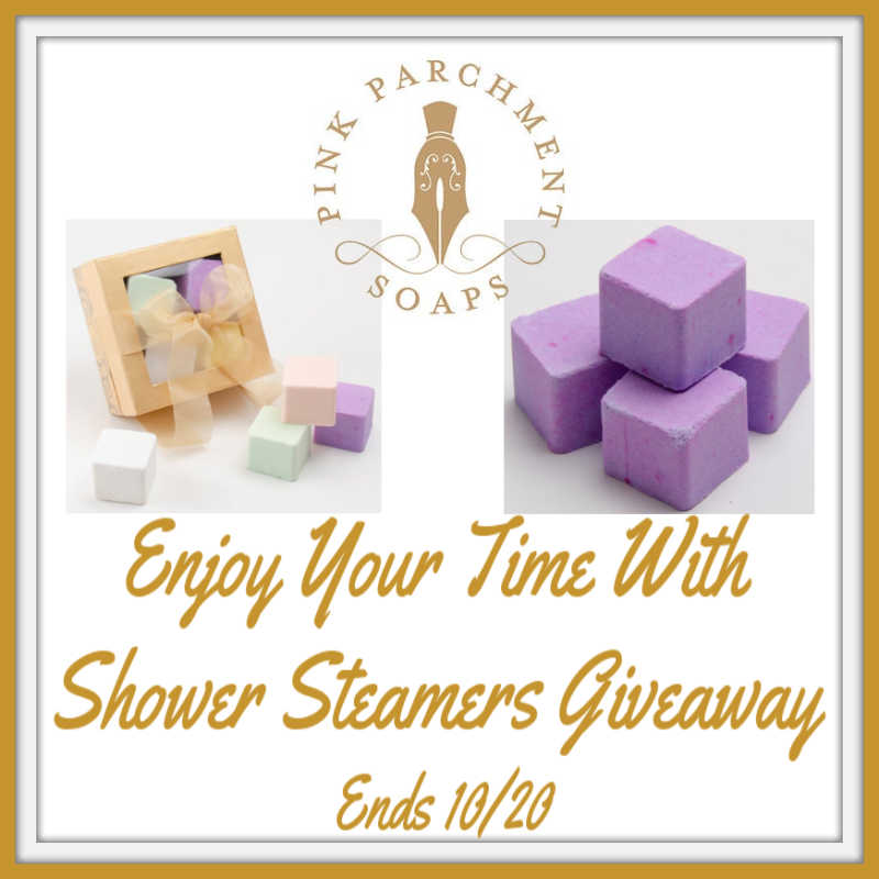 CLOSED~Enjoy Your Time With Shower Steamers Giveaway-Ends 10/20