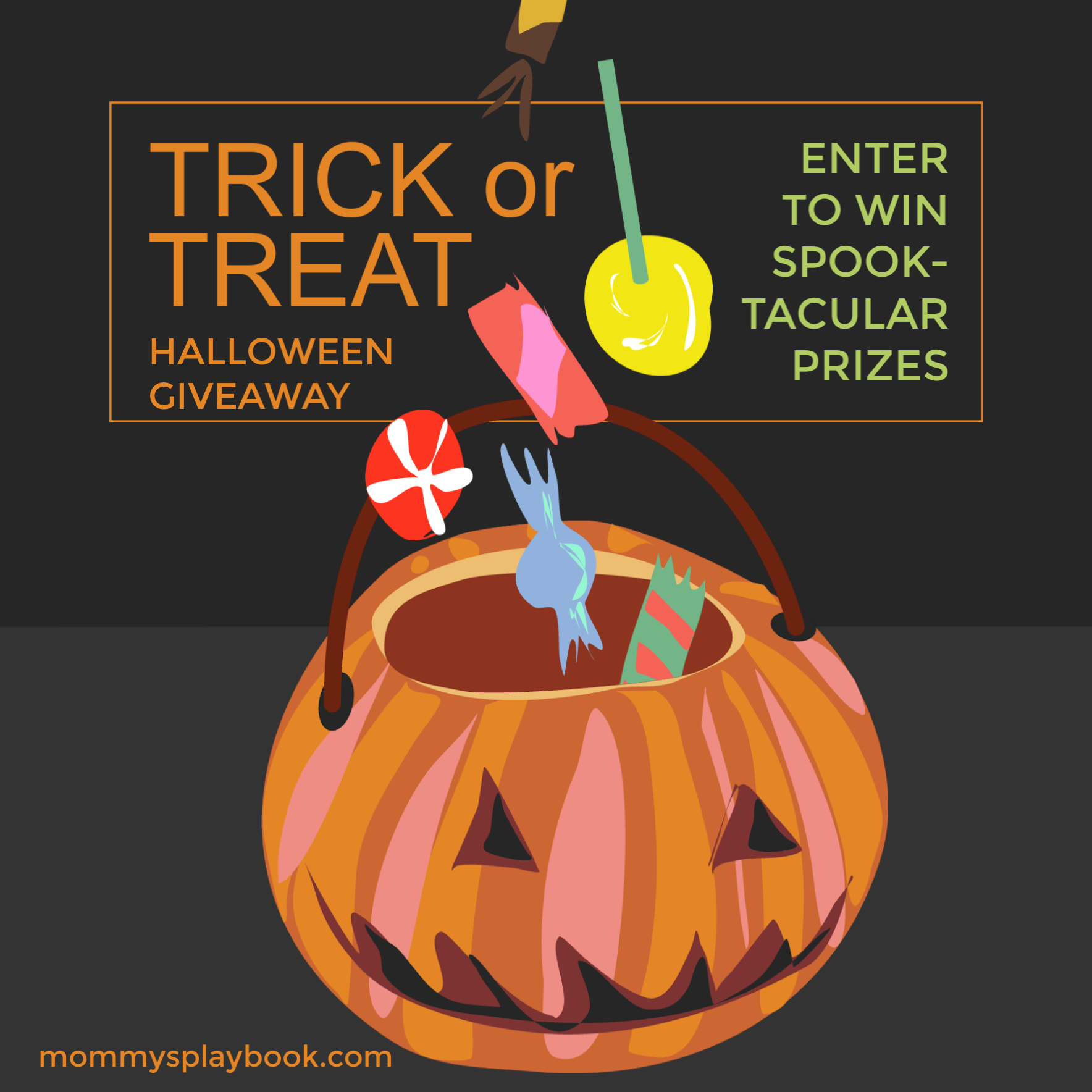 CLOSED~Trick or Treat Halloween Giveaway- Ends 10/21
