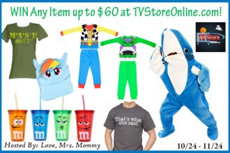 Enter to win in the TV Store Online Giveaway