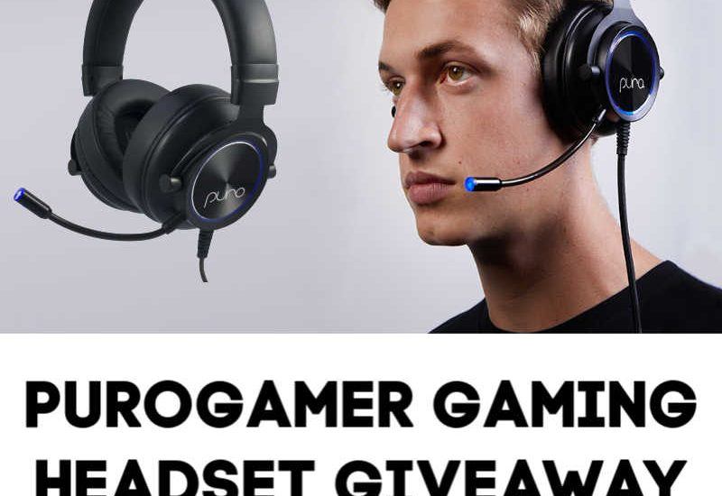 Well, you definitely don't want to miss this! Enter to win in the PuroGamer Gaming Headset Giveaway before it's too late. Good luck!
