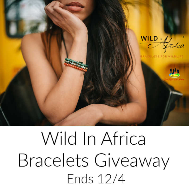 CLOSED~Wild In Africa Bracelets Giveaway-Ends 12/4