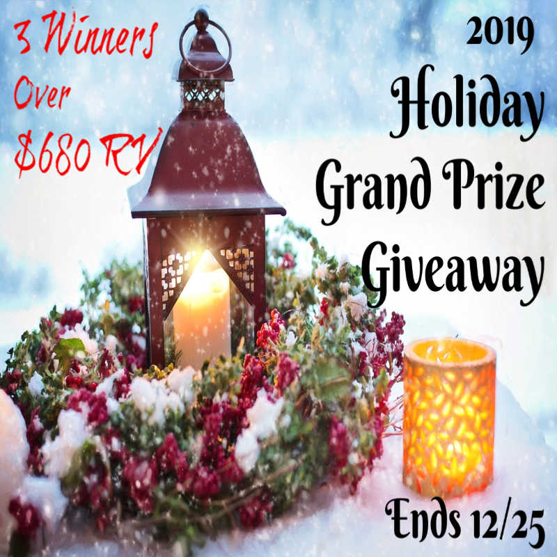 CLOSED~2019 Holiday Grand Prize Giveaway-Ends 12/25