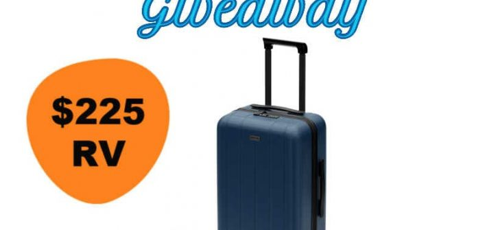 Chester Travels Minima Luggage Giveaway