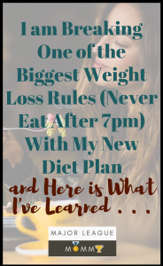 MLM Pin- never eat after 7pm author interview