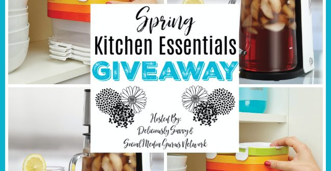 let's have a little fun. Enter to win in the Spring Kitchen Essentials Giveaway before it's too late. Good luck!