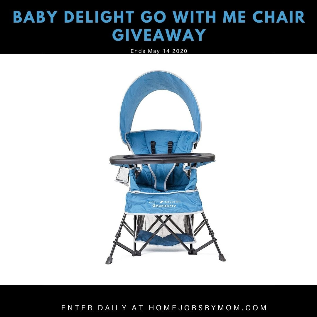 @BabyDelightInc Go With Me Chair Giveaway -Ends 5/14