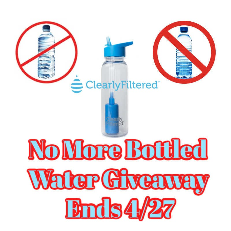 No More Bottled Water Giveaway