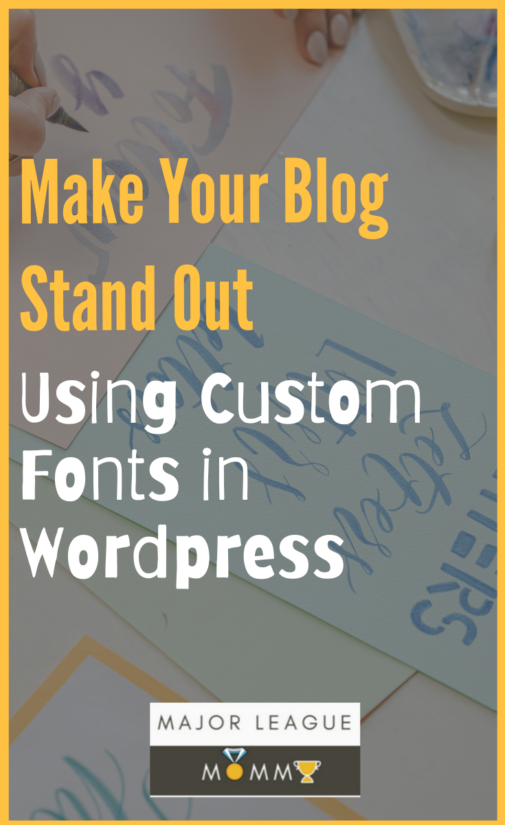 Make your blog stand out using custom fonts in WordPress