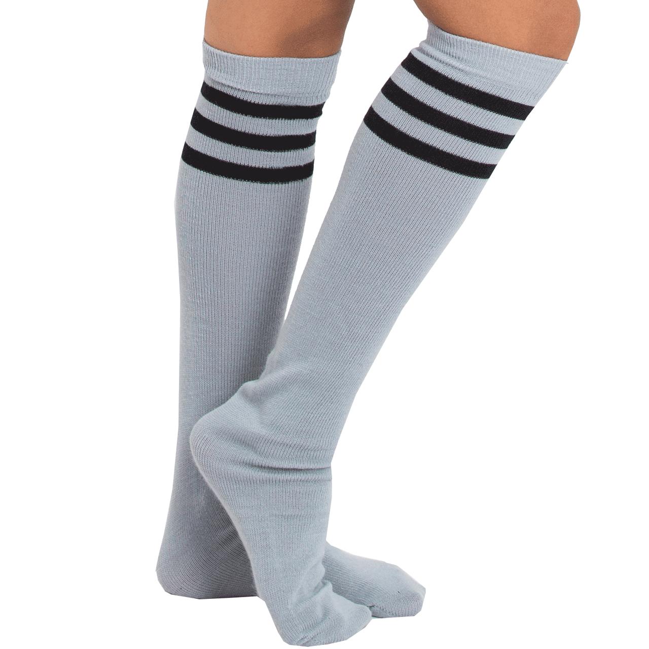Gray Tube Socks