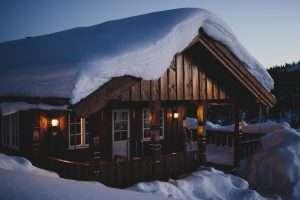 Cabin Getaway Christmas Date Night