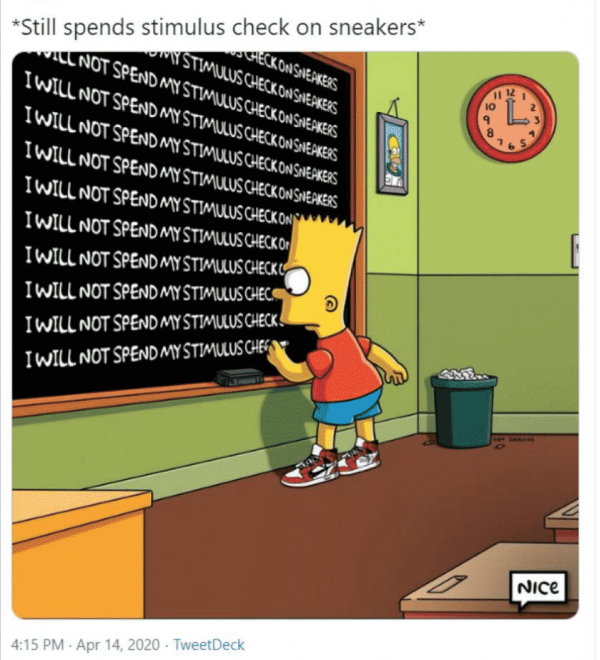 Stimulus Check memes