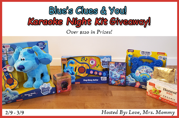 Blues Clues Giveaway